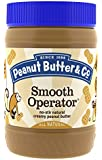 Peanut Butter & Co. Peanut Butter, Smooth Operator, 16 Ounce Jars (Pack of 6)