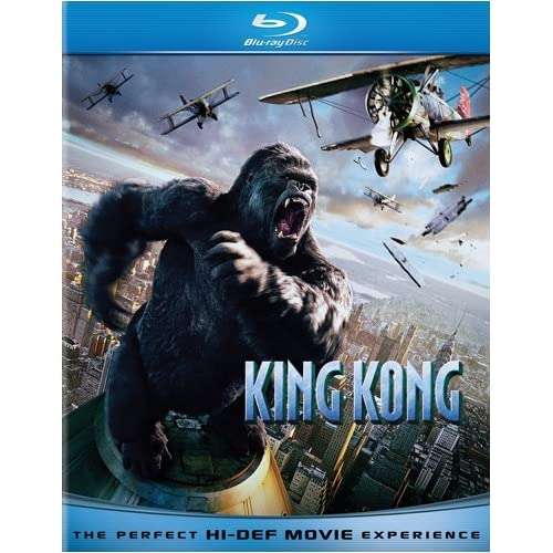 King Kong Blu-Ray Cover Art