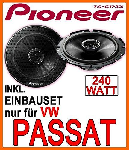 VW-Passat-3B-3BG-Lautsprecher-Pioneer-TS-G1732i-16cm-Einbauset