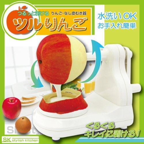 マクロス りんご・なし皮むき器 ツルりんご MCZ-5331