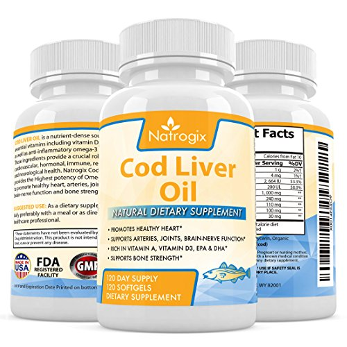 Top best 5 fish oil rositas for sale 2016 product for Is cod liver oil the same as fish oil