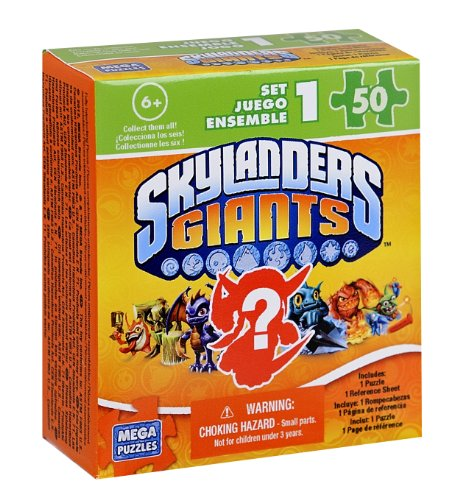 Skylanders Giants 50 piece Blind Box Puzzle - 1