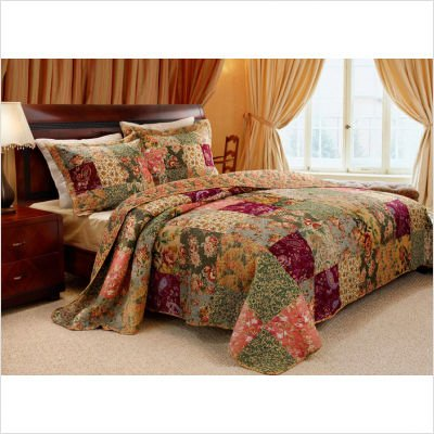 Bundle-08 Antique Chic Bedspread Set - Full greenland greenland gr002lubkp31