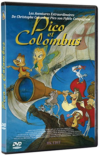 Pico et Colombus - Les Aventures Extraordinaires de Christophe Colomb et Pico son Fidèle Compagnon (dvd)