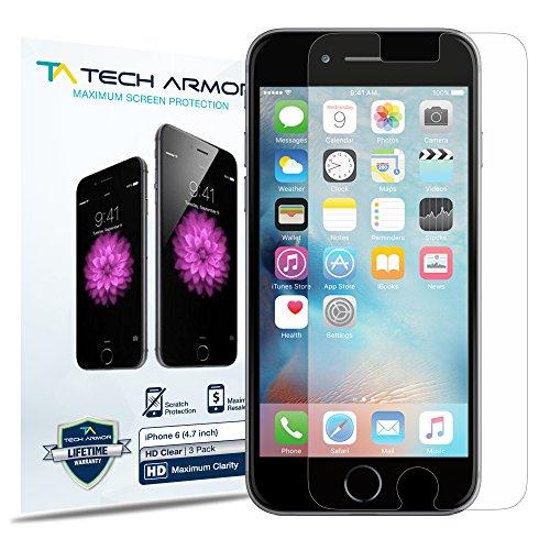 iPhone 6 Screen Protector, Tech Armor Apple iPhone 6  High