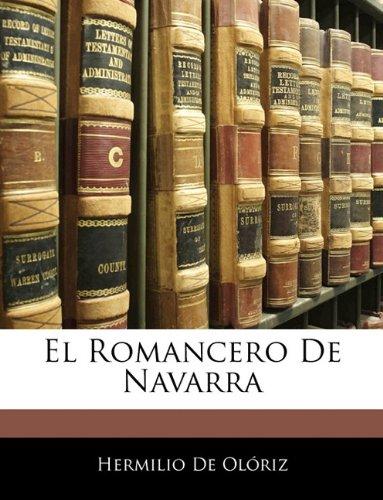 El Romancero De Navarra  [De Olóriz, Hermilio] (Tapa Blanda)