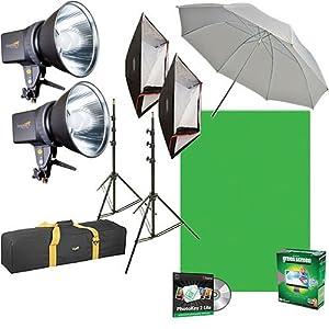 Amazon.com : Impact EX100 Ultimate Creative Portrait Kit (120VAC