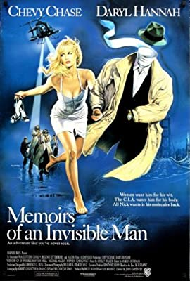 Memoirs Of An Invisible Man Poster 24x36