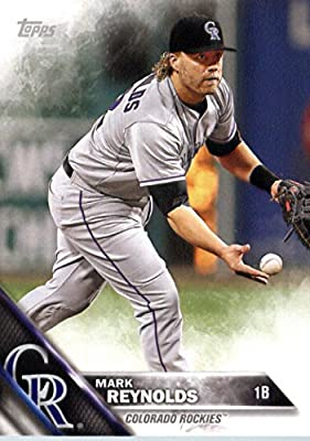 2016 Topps Team Edition #CRO-10 Mark Reynolds Colorado Rockies Baseball Card