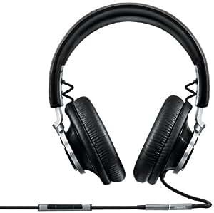 Philips Fidelio Casque Audio L1 noir avec fonction prise d'appel et micro pour téléphone mobile
