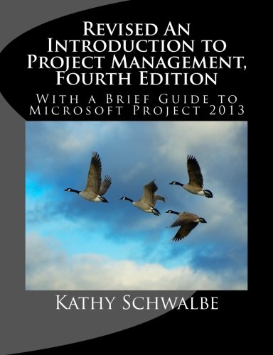 introduction to project management kathy schwalbe 5th edition pdf