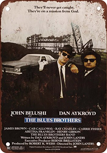 1980 The Blues Brothers look vintage Alternatore in riproduzione