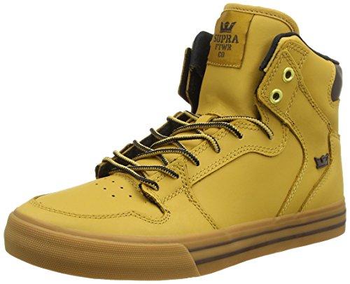 SupraVAIDER - Sneaker Unisex - adulto , Marrone (Braun (AMBER GOLD - LIGHT GUM   AMB)), 44.5