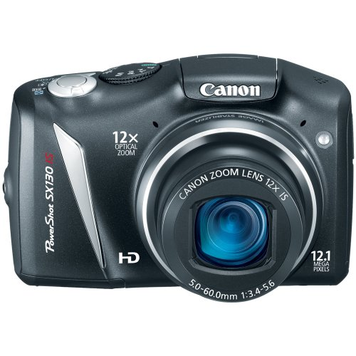 Canon PowerShot SX130IS 12.1 MP Digital Camera Review