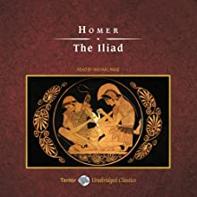 The Iliad Audiobook by  Homer, Alexander Pope - translator Narrated by Michael Page