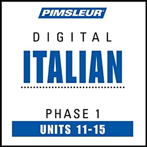 Italian Phase 1, Unit 11-15 Audiobook