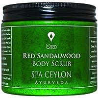 Spa Ceylon Luxury Ayurveda Red Sandalwood Body Scrub, 225g