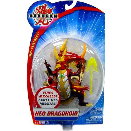 Amazon.com: Bakugan Battle Monster Action Figure - Neo Dragonoid