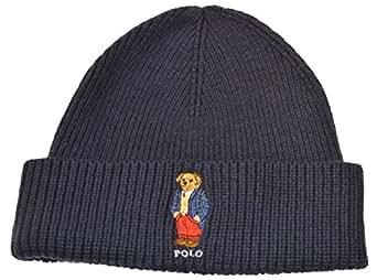 polo ralph lauren unisex knit winter hat bear. Black Bedroom Furniture Sets. Home Design Ideas