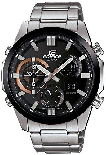 [カシオ]CASIO 腕時計 EDIFICE デュアルダイアルワールドタイム搭載 ERA-500DB-1AJF メンズ