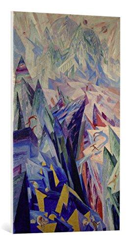 canvas-print-wenzel-hablik-the-path-of-genius-high-quality-fine-art-print-canvas-on-stretcher-ready-