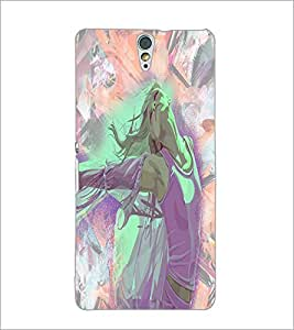 PrintDhaba Happy Girl D-2907 Back Case Cover for SONY XPERIA C5 ULTRA (Multi-Coloured)