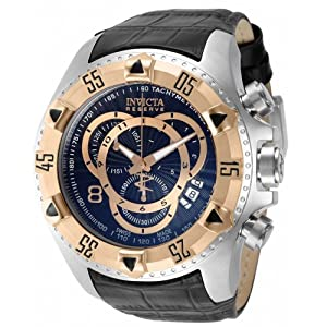 Invicta 11011 Men's Reserve Excursion Elegant Swiss Made Rose Tone Watch