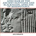 Afro Hair of the Ancient Egyptians and Blackheads, Africans of Mesopotamia Audiobook by Anu M'Bantu Narrated by Roger Lott
