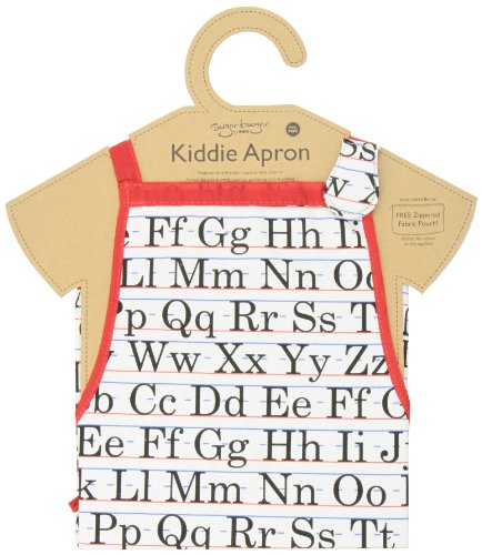 Sugarbooger Kiddie Apron, Vintage Alphabet front-479880