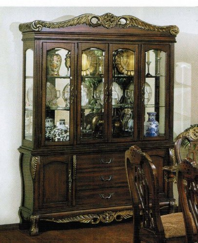 Cheap China Cabinet Buffet Hutch Walnut Finish (VF_AZ00-39535×21584)