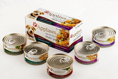 Artikelbild: 4er Pack Applaws Dog Mixed Selection Pack 5x156g