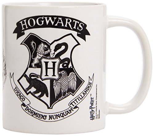 Pyramid Harry Potter - Tazza Hogwarts Crest Black, 1 pezzo