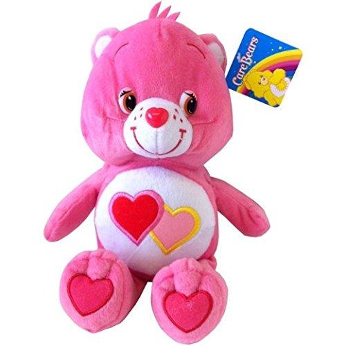 care-bears-stofftier-love-a-lot-rosa-mit-herzen-care-bear-12-zoll-stofftier