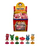 6 Assorted Jump Pop Up Monster Toys / Childrens Kids Party Bag Fillers Boys