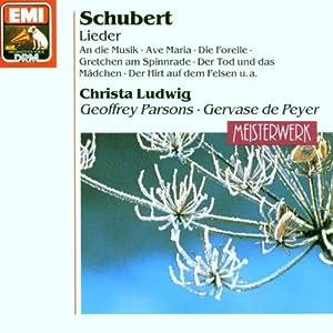 Christa Ludwig singt Lieder von Schubert