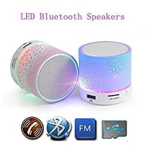 JIYANSHI Blackberry Q10 Compatible Wireless Bluetooth Speaker Mini Multicolor With Portable Audio Player & FM