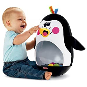 Fisher-Price Go Baby Go! Bat and Wobble Penguin