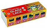 Hobby Line 79600 - Acryl- Glanzlack Creativ-Set 6 x 20 ml