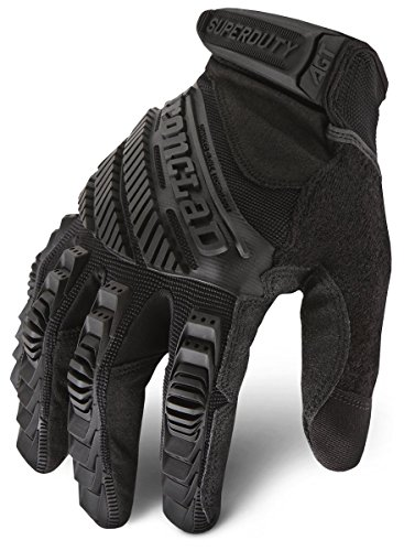 Ironclad SDG2B-04-L Stealth Super Duty Impact Gloves Automotive Construction Large (Ironclad Super Duty Gloves compare prices)