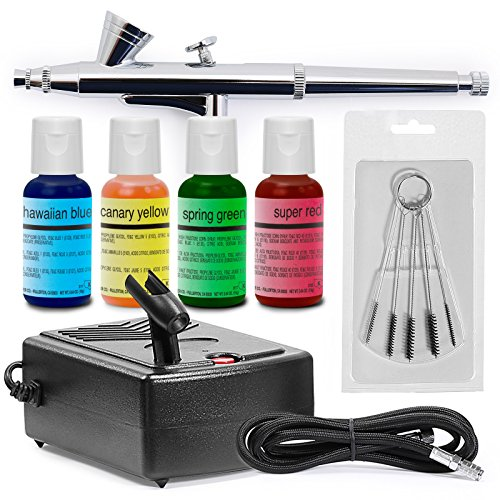 Complete Airbrush Cake Decorating Set : PointZero Complete Airbrush Cake Decorating Set - 4 ...