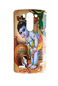 Newtronics Fashion Designer Lord Krishna Hard Back Cover Case for LG G3 Beat (G3 Mini)