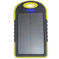 EASY SLPB-5000YL Water Resistant Solar Power Bank