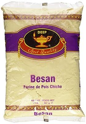Deep Besan Chickpea Flour, 2 Pound from Gandhi Appliances - Toys