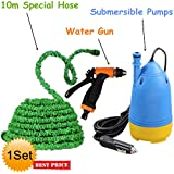 VelVeeta New Portable Home And Car Electric Pressure Washer With Water Gun + 10m Special Hose Pipe + Submersible... - B01NA7VDH2
