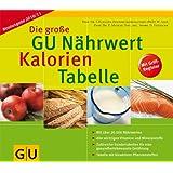 """Die gro�e GU N�hrwert-Kalorien-Tabelle 2010/2011 (GU Tabellen)von """"Ibrahim Elmadfa"""""""