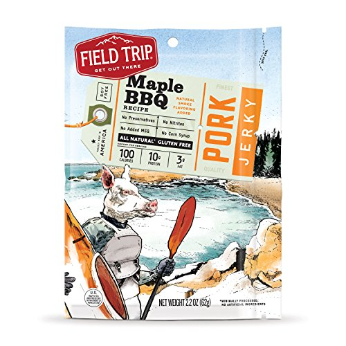 16oz field trip all natural beef jerky low fat no added msg no