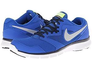 Nike Men's Flex Experience Rn 3 Hypr Cblt/Mtllc Slvr/Obsdn/Vlt Running Shoe 9 Men US