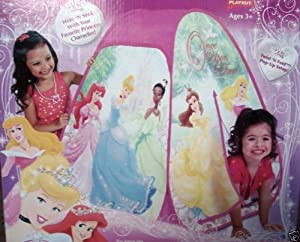 Disney Princess Classic Hideaway Pop-Up Twist-N-Fold Tent by Playhut