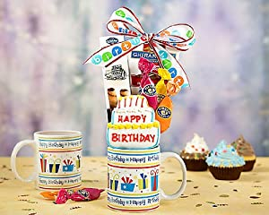 Sweet Birthday Assortment by Wine Country Gift Baskets
