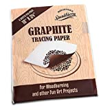 Premium Graphite Tracing Paper Transfer Paper for Tracing Design To Your Project 5 Sheets 18 x 24